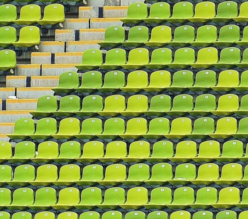 green football stadiums