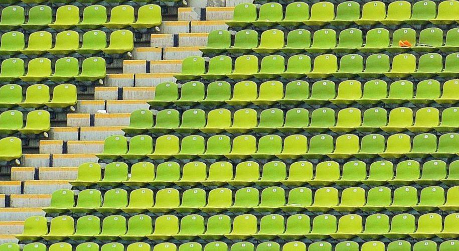 green football stadiums